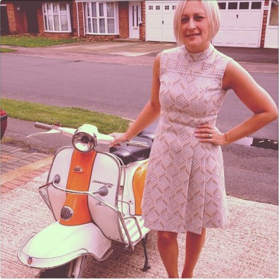 Lammy. Our first 1960 Lambretta LI 150