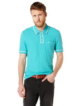 Original Penguin aqua polo (other colours available) £27