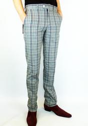 Merc 'Jake' check trousers from Atom Retro £49