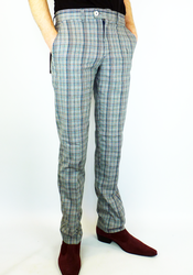 Merc 'Jake' check trousers from Atom Retro £49
