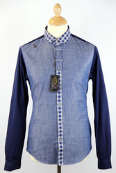 Atom Retro 'LUKE' gingham shirt £56