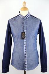 Atom Retro 'LUKE' gingham shirt £56