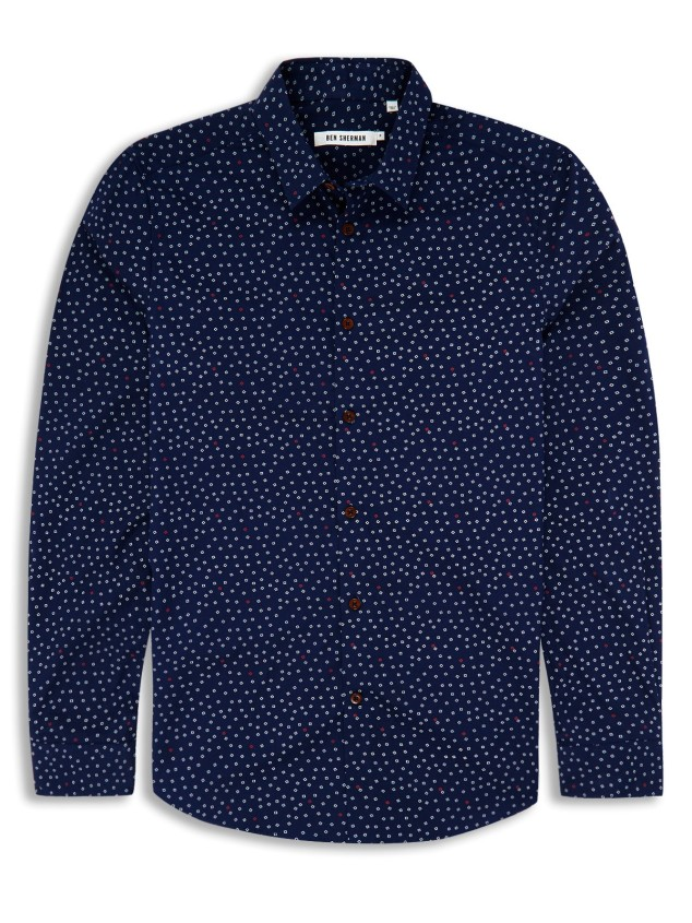 en Sherman geo print shirt £30 (other colours available)