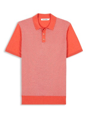 Ben Sherman knitted micro geo polo £42 (other colours available)