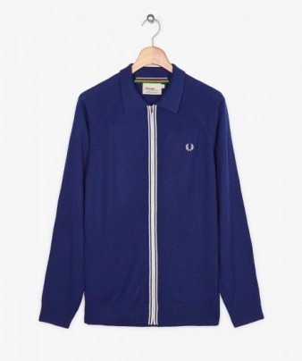 Fred Perry knitted zipped cardigan £62.50