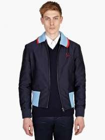 Fred Perry Geometric Twill Harrington Jacket £162.50