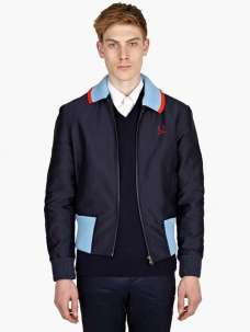 Fred Perry Geometric Twill Harrington Jacket £162.50