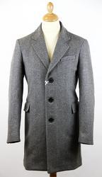 Gloverall Herringbone Chesterfield coat from Atom Retro £262.50