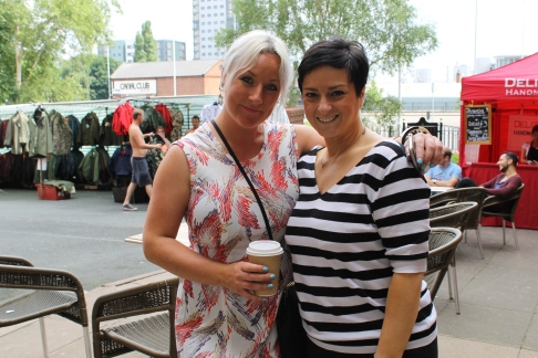 Ellen Roberts from Blondies and Kelly Jeffs from Light House Media