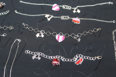 Handmade jewelry by Suzi's Scoots