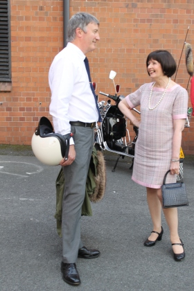 Mods Andy Martin and Gill Evans