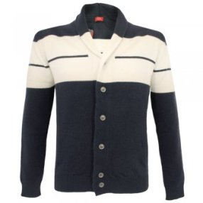 John Smedley signature cashmere blend midnight jacket from Stuarts London £99