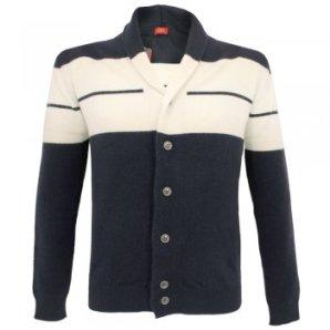 John Smedley signature cashmere blend midnight jacket from Stuarts London £99
