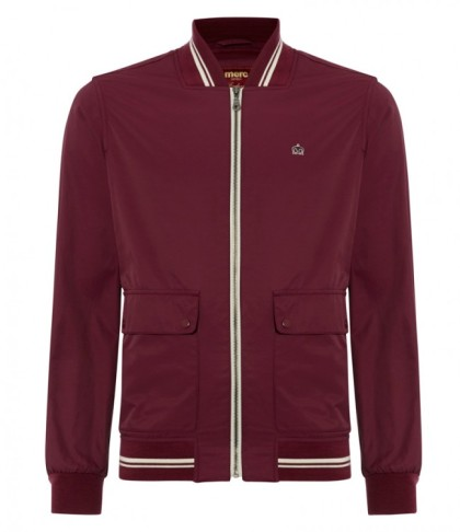 Merc Campbell Blouson Jacket in plum £39