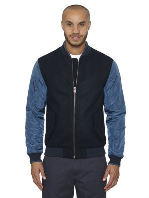 Original Penguin saphire PIEELD baseball jacket £36