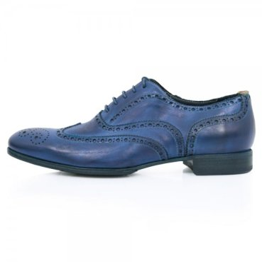 Paul Smith Navy dip dyed brogue £149 from Stuarts London