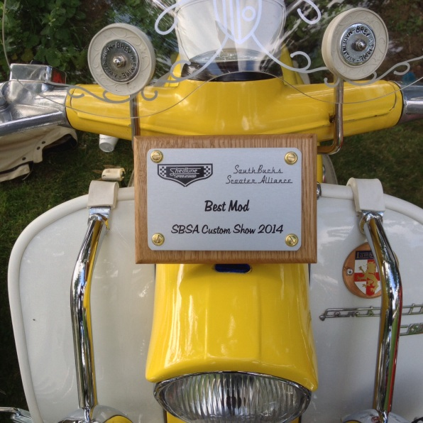 The Award Winning Yellow Peril (Stable name: Beryl)