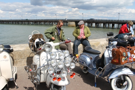 Got chatting to these lovely German chaps who were already members of The Mod Closet. So proud!