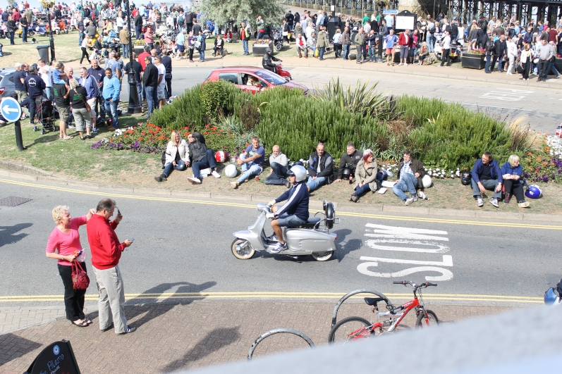 IOW People (Scooter) Watching