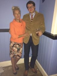 Saturday night in the Marine bar & diner enjoying the Northern Soul