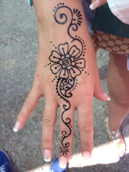 My Henna tattoo