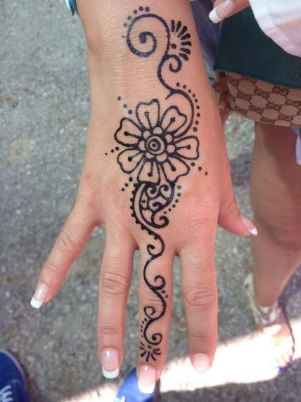 My Henna tattoo