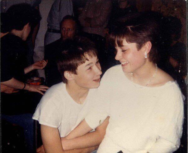 Then: Gavin & Serena, 1985