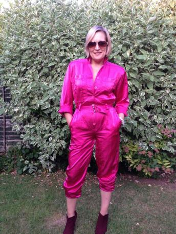 1980s Betty Barclay jumpsuit £9