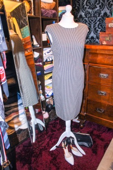 Zara houndstooth dress £9