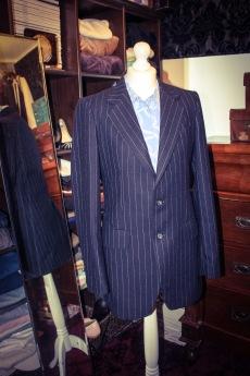 Gents wool pinstripe blazer £6