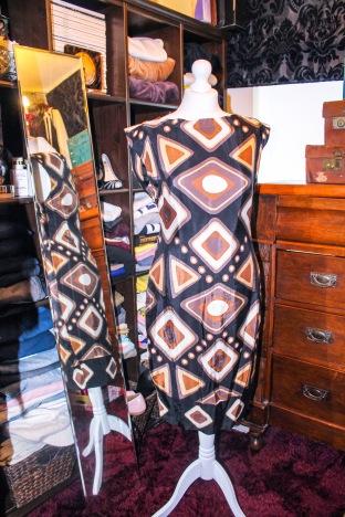 Geometric shift dress £7