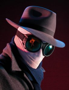 Click on The Invisible Man to find him on Facebook