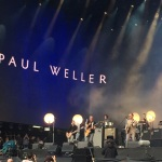 Paul Wellar supporting The Who at Hyde Park
